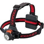 Kraftmax Coast HL27 - Fokussierbare LED Kopflampe / Hochleistungs Stirnlampe