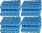 12 Stück Kühlakkus Kühlelemente ( 12h Akkus ) iceblocks freeze packs für Kühltasche Kühlbox , iapyx®