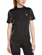 Ultrasport Damen Fahrradshirt mit Reißverschluß, black, M, 10218