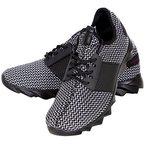 Sneaker Herren-Schuhe Schnürer Sport Design Lauf-Schuhe Profilsohle T-1035 Grau EUR 43