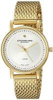 Stuhrling Original 734LM.04 Damen-Armbanduhr Analog Quarz Edelstahl