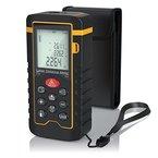 Brandson Laser-Entfernungsmesser | Laser Distanzmessgerät | Messung von Distanz, Flächen, Volumen | bis zu 40m | +/-1mm Messgenauigkeit | Laser-Klasse II | Messeinheit in Meter, Zoll, Fuß | LCD-Display mit Hintergrundbeleuchtung