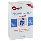 Darmflora plus select Dr. Wolz | widerstandsfähige, selektierte Milchsäurebakterien | hochdosierte Bakterienkulturen 48 Mrd/Tag | 8 probiotische Kulturen | vegan | 80 Kapseln