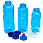 3 x Original Kavodrink Trinkflaschen aus TRITAN 100% ohne Weichmacher im Sparset: 1x1 Liter (rund), 1x 0,75 Liter (rund), 1x0,5 Liter (rund) + 3 Standarddeckel + 2 Sportdeckel (FlipTop) + 1 Trinkdeckel (Push PULL) Weichmacherfrei ohne Weichmacher ohne Schadstoffe BPA frei Phtalath frei geruchsfrei und geschmacksneutral aus Österreich ideal für den Alltag