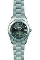 Garde Uhren aus Ruhla Titanuhr Titan-Damenuhr schwarz 6827-5