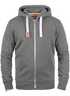SOLID BennZip Kapuzenjacke Zip Hoodie, Größe:XL;Farbe:Grey Melange (8236)