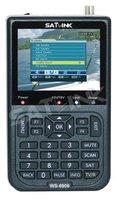 SATLINK WS 6906 Profi Satfinder DVB-S FTA TFT 8,9cm Sat Messgerät DVBS Digital [video und manual auf