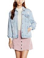 New Look Damen Jacke Tilly Oversized, Blau (Dunkelblau), Gr. 40 (12 UK)