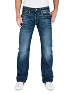 Replay Herren Boot-Cut Jeans Billstrong, Blau (Blue Denim), W34/L32 (Herstellergröße: 34)