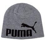 PUMA Mütze Big Cat Beanie, Medium Gray Heather-No1 Logo, OSFA, 834016 52