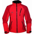 COX SWAIN TITANIUM 3-Lagen Damen Softshell Jacke FOREST - 15.000mm Wassersäule 10.000mm atmungsaktiv, Farbe: Red, Größe: S