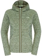 The North Face - W Nikster Full Zip Hoodie, Farbe SeaSpray Green/New Taupe Green, Größe DS