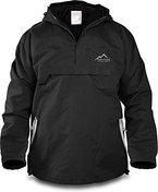 Winddichte Funktions-Jacke für Damen und Herren von S-4XL Farbe Black/Beige Größe L