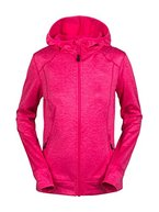 aparso Damen Sportjacke Laufjacke Kapuzenpullover Pullover Jacke Sweatjacke Sweater Sweatshirt mit Kapuze (L, Pink)