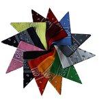 Farbenfrohes 12er Pack Bandanas im Paisleymuster Halstuch, Schal, Stirnband- Farbsortiment von Kurtzy TM