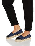 Another Pair of Shoes ElizaaK2, Damen Espadrilles, Blau (denim blue/black1720), 38 EU (5 UK)