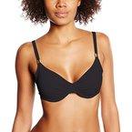 Skiny Damen Bügel Bikinioberteil Ocean Love/Da. BH, Gr. 85E, Schwarz (black 8596)