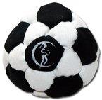 Pro Hacky Sack 32 Paneelen (Schwarz/Weiß) Profi Freestyle Footbag! Hacky Sack für Anfänger und Profis, ideal für Stände, Fänge, Verzögerungen u. Tritte!