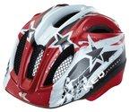KED Fahrradhelm Meggy, Red Stars, 52-58 cm, 15409122M