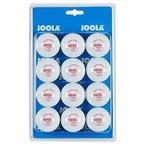 JOOLA Tischtennis-Bälle Training 40 weiss 12er Blister