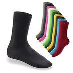 10 Paar EVERYDAY! Unisex Socken Schwarz-39-42