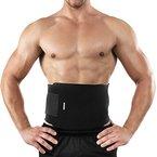 Bracoo Fitnessgürtel Bauchgürtel für Männer und Frauen | Bauchweggürtel | Schnell und Einfach Abnehmen | Premium Qualität Taillentrimmer Schwitzgürtel