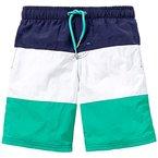 Schiesser Jungen Badeshorts Swimshorts, Gr. 140, Grün (grün 700)