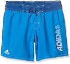 adidas Jungen Badeshorts LIN SH CL, Blau, 128, 4056561768527