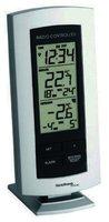 Technoline Wetterstation WS 9140-IT mit Funkuhr und Innen- und Außentemperaturanzeige
