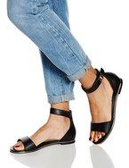 Another Pair of Shoes ScarleetK1, Damen Knöchelriemchen Sandalen, Schwarz (black01), 37 EU