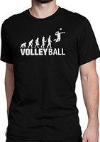 Evolution Volleyball / Sport / Ballsport / Größe XS-5XL / Ideales Geschenk / Premium T-Shirt (3XL)