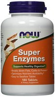 Now Foods, Super Enzyme, 180 Tabletten