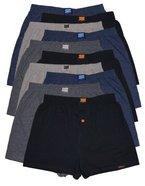 10 Boxershorts in 4 klassischen Grundfarben - locker und weiche Unterhose Short Boxer (XXXXL-10, Klassisch)