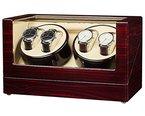 JQUEEN Automatische Uhrenbeweger Geheime Kiste Aus Holz