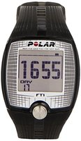 POLAR Sportuhr FT1 Transparent Black, 0725882012803