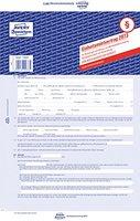 Avery Zweckform 2873 Mietvertrag (für Wohnungen und Häuser, A4, selbstdurchschreibend) 5 Stück, blau