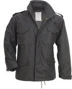 M65 Fieldjacket - Outdoor Parka Feldjacke -, schwarz, L