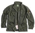 Vintage Airborne Fieldjacket Feldjacke oliv washed S - XXL M