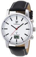 Time Piece Herren-Armbanduhr Funk Analog Quarz TPGA-10227-77L
