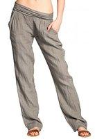 CASPAR KHS020 Damen Leinen Hose , Farbe:taupe;Größe:38 M UK10 US8