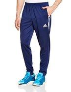 adidas Herren Trainingshose Sereno 14, dunkel blau/weiß, L, F49689
