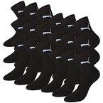 PUMA Unisex Short Crew Socks Socken Sportsocken MIT FROTTEESOHLE 12er Pack black 200 - 43/46