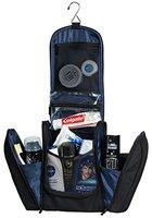Extragroßer Kulturbeutel | Kulturtasche zum Aufhängen für Damen und Herren (Ocean Blue) | Waschtasche mit vielen Fächern