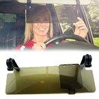 Foxnovo Dauerhafte Anti Glare Blendschutzring Clip-on Auto Auto Sonnenblende Spiegel Sonnenblende