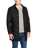 JACK & JONES Herren Mantel Jorcity Coat, Schwarz (Black), Medium