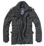 Brandit Herren Jacke M65 Voyager Wool, Grau (Anthrazit 5), XX-Large