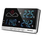Excelvan Wireless Funkwetterstation Wetterstation Präzisionsvorhersage Temperatur Außensensor