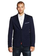 BOSS Orange Herren Jacke Benestretch5-W, Blau (Dark Blue 404), Large (Herstellergröße: 52)