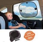 Sonnenschutz Auto für Kinder und Babys (2er-Pack)