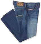 Diesel Herren Bootcut Jeans Zatiny Pantaloni, Blau (Medium Blue 008XR), W34/L34